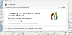 api, Openaid.se, Raphaël, RubyOnRails, UD API, Nyheter, Offentlig sektor, Wordpress